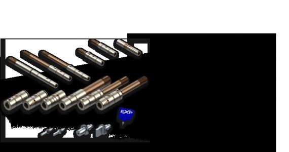 EXP adapterek - HPX szerszámrendszer